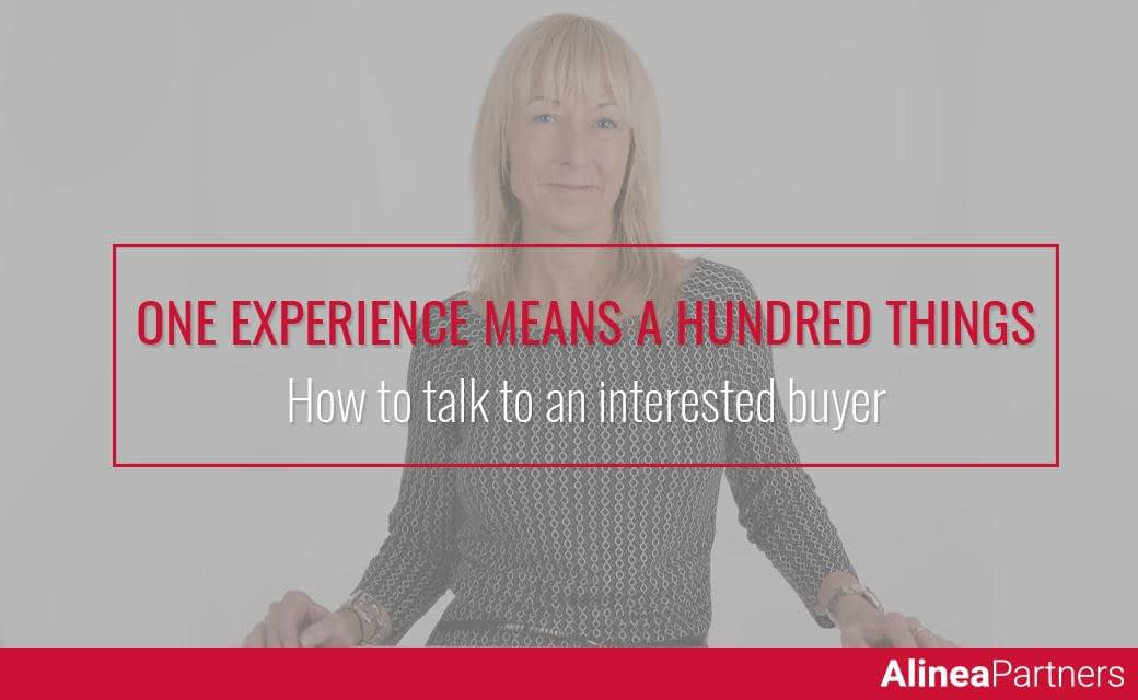 How to talk to an interested buyer