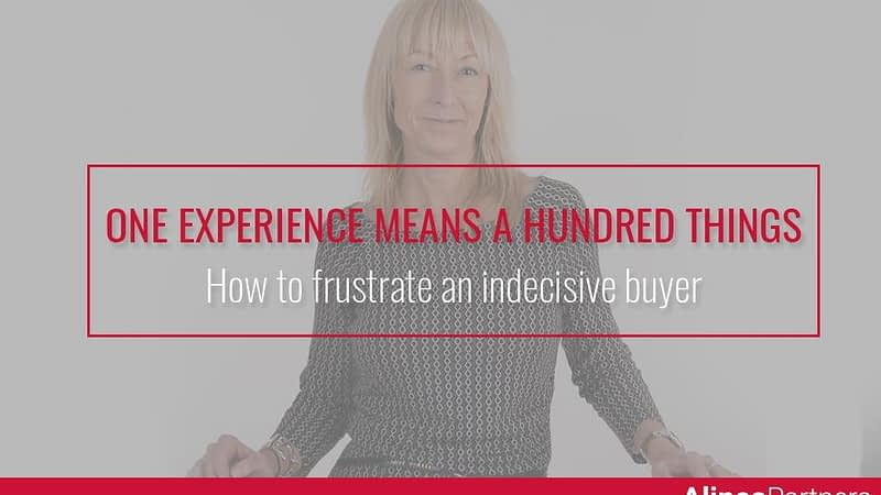 How to frustrate an indecisive buyer