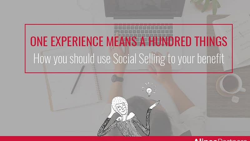 How you should use social selling to your benefit